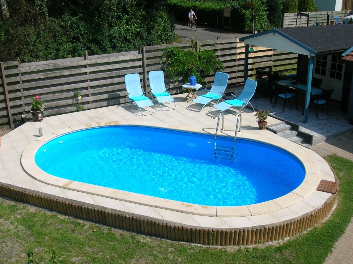 Metalen zwembad